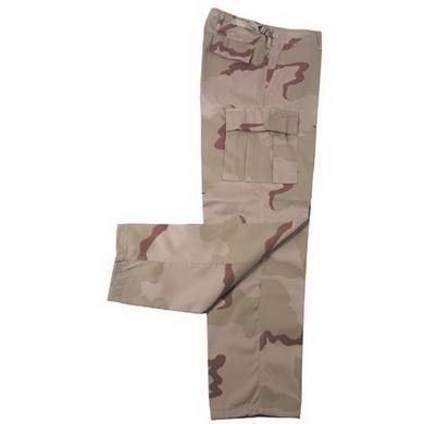 Kalhoty US BDU 3 COL. DESERT