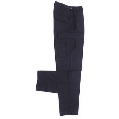 Kalhoty US BDU prošité MODRÉ