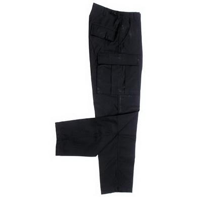 Kalhoty US BDU prošité ÈERNÉ