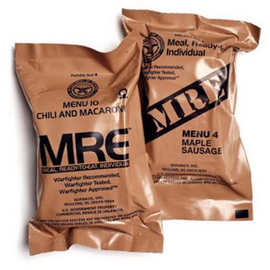 Dávka US MRE potraviny MEAL READY TO EAT - 14 MENU - zvìtšit obrázek