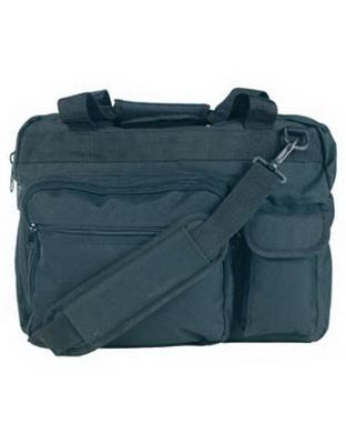 Aktovka s taškou na notebook - èerná