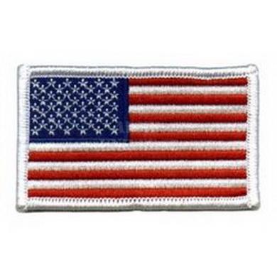 Nášivka US vlajka - bílá