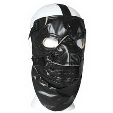 Maska oblièejová US zateplená ÈERNÁ