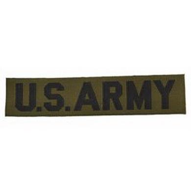 Nášivka US ARMY textil OLIV