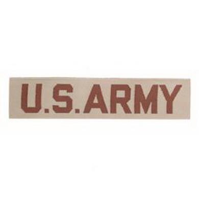 Nášivka US ARMY textil DESERT