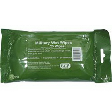 Èistící dekamuflážní ubrousky (balení 25ks)
