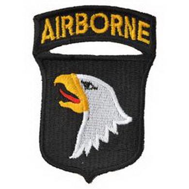 """Nášivka 101st Div. Airborne """"køièící orli"""""""