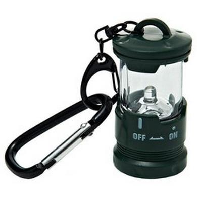 Svítilna LED s karabinou ZELENÁ