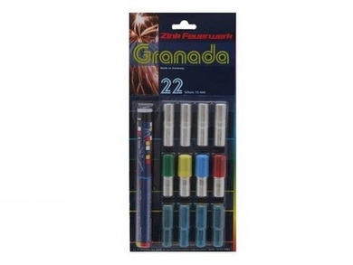 Pyro svìtlice Granada set 22ks
