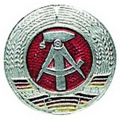 Odznak NVA KOKARDA støíbrný