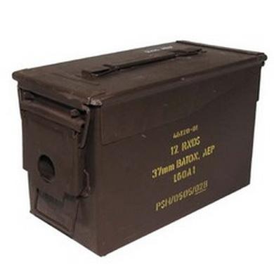 Bedna na munici Britská 29,5x15,5x18cm použitá