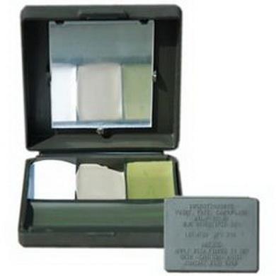 Barvy maskovací US orig 4 barvy v krabièce se zrcátkem