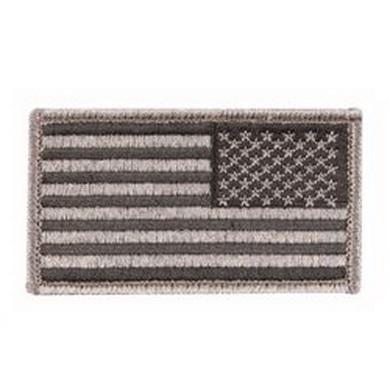 Nášivka US vlajka reverzní ÈERNÁ