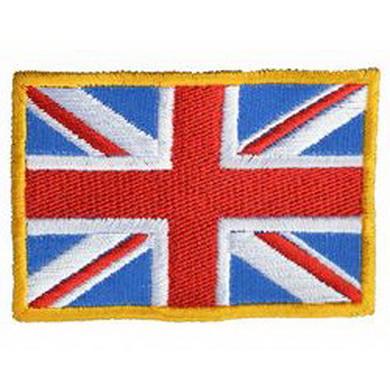 Nášivka VELKÁ BRITÁNIE vlajka, barevná