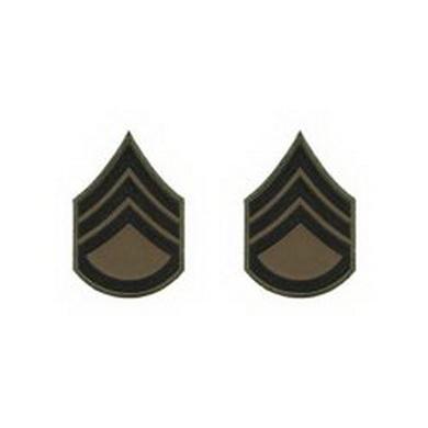 Hodnostní nášivka STAFF SERGEANT
