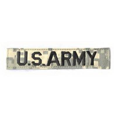 Nášivka jmenovka US ARMY DIGITAL CAMO