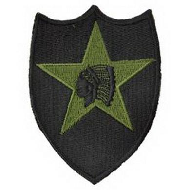 Nášivka 2nd Infantry Division bojová, malá