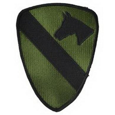 Nášivka 1st Cavalry Division bojová