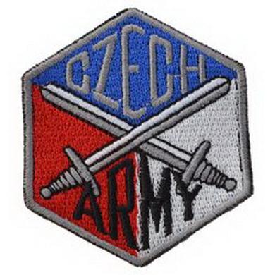 Nášivka CZECH ARMY meèe