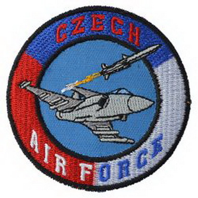 Nášivka CZECH AIR FORCE