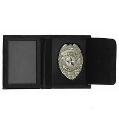 Penìženka kožená se støíbrným odznakem SECURITY OFFICER