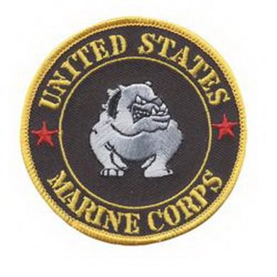 Nášivka U.S.M.C Bulldog