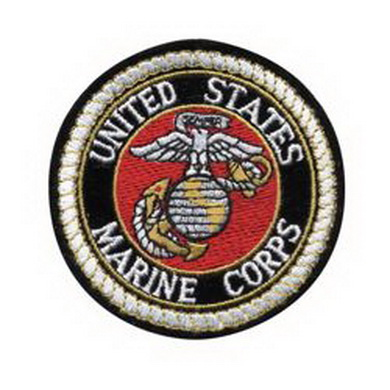 Nášivka USMC kulatá menší