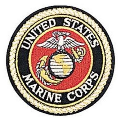 Nášivka U.S.M.C kulatá