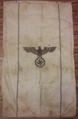 Poštovní pytel Wehrmachtu z roku 1944 - originál