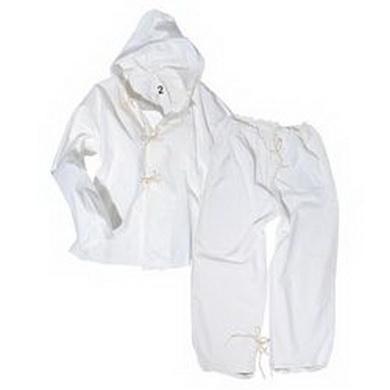 Pøevlek ITALSKÝ do snìhu kalhoty+bunda BÍLÝ použitý