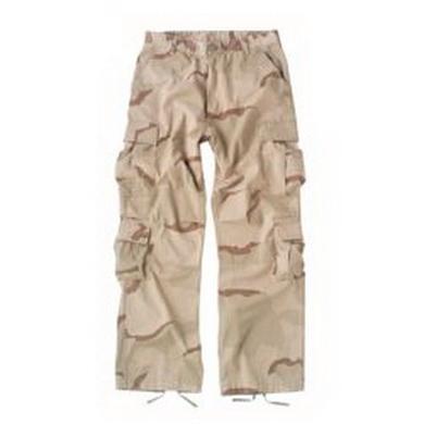 Kalhoty VINTAGE PARATROOPER 3-COL DESERT