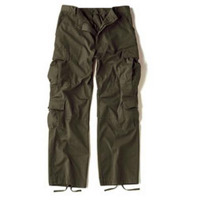 Kalhoty VINTAGE PARATROOPER OLIV