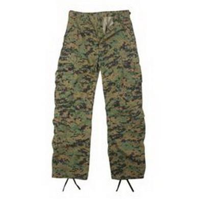 Kalhoty VINTAGE PARATROOPER MARPAT, DIGITAL WOODLAND