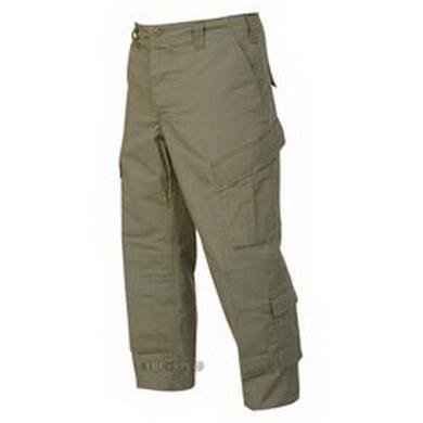 Kalhoty TRU OLIV rip-stop