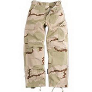 Kalhoty BDU RipStop 3col. DESERT