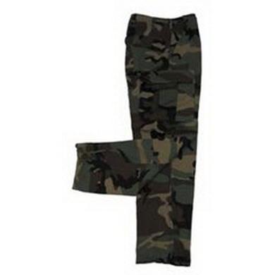 Kalhoty US BDU WOODLAND orig. nové