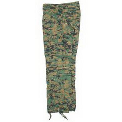 Kalhoty US typ ACU R/S DIGITAL WOODLAND