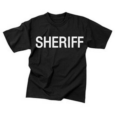 Triko SHERIFF ÈERNÉ