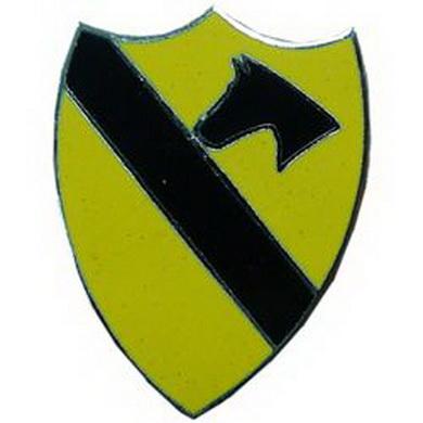 Odznak US CAVALERY / kuò barevný /