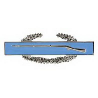 Odznak bojový US INFANTRY modrý /pistol/