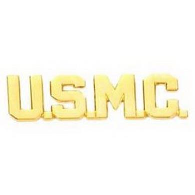 Odznak U.S.M.C. LETTERS ZLATÝ leštìný