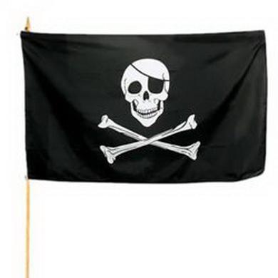 Vlajka na tyèce PIRÁT