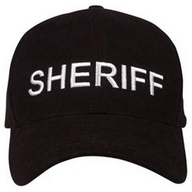 Kšiltovka SHERIFF BASEBALL ÈERNÁ