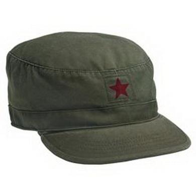 Èepice Vintage Red Star zelená