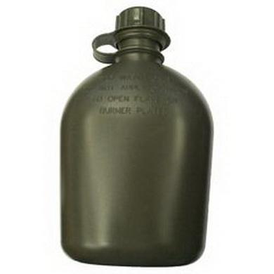 Láhev samostatná  US 1Qt. plastová OLIV