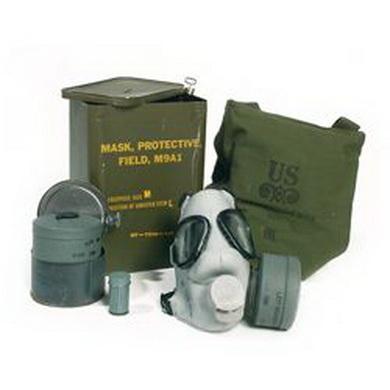 Maska plynová M9A1 s filtrem