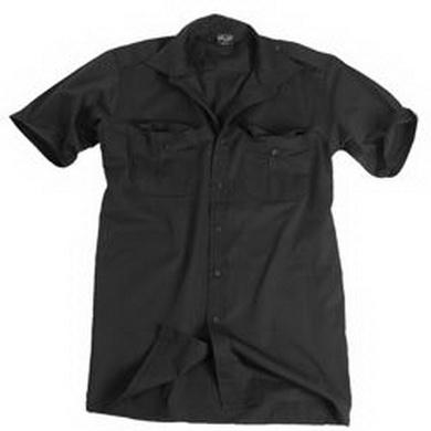 Košile SERVIS krátký rukáv ÈERNÁ