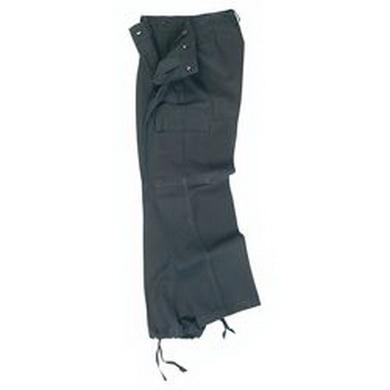 Kalhoty BW moleskin èerné - orig.