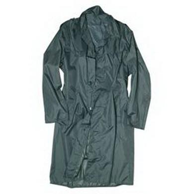Kabát do deštì švýcarský šedý