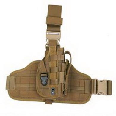 Stehení pouzdro na pistoli MOLLE Coyote Brown Pantac